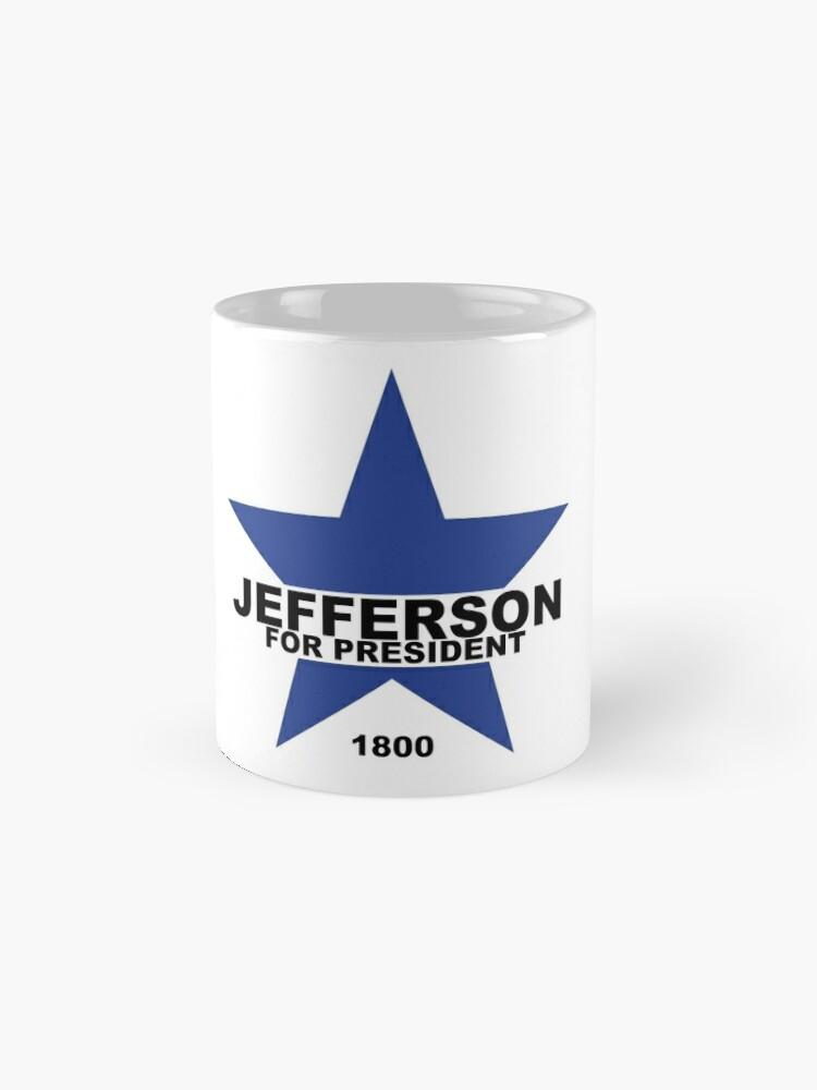 Vista alternativa de Tazas Jefferson para presidente