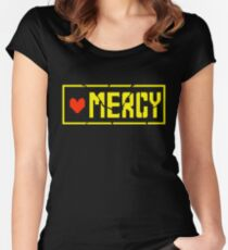 Undertale Mercy Women's Fitted Scoop T-Shirt