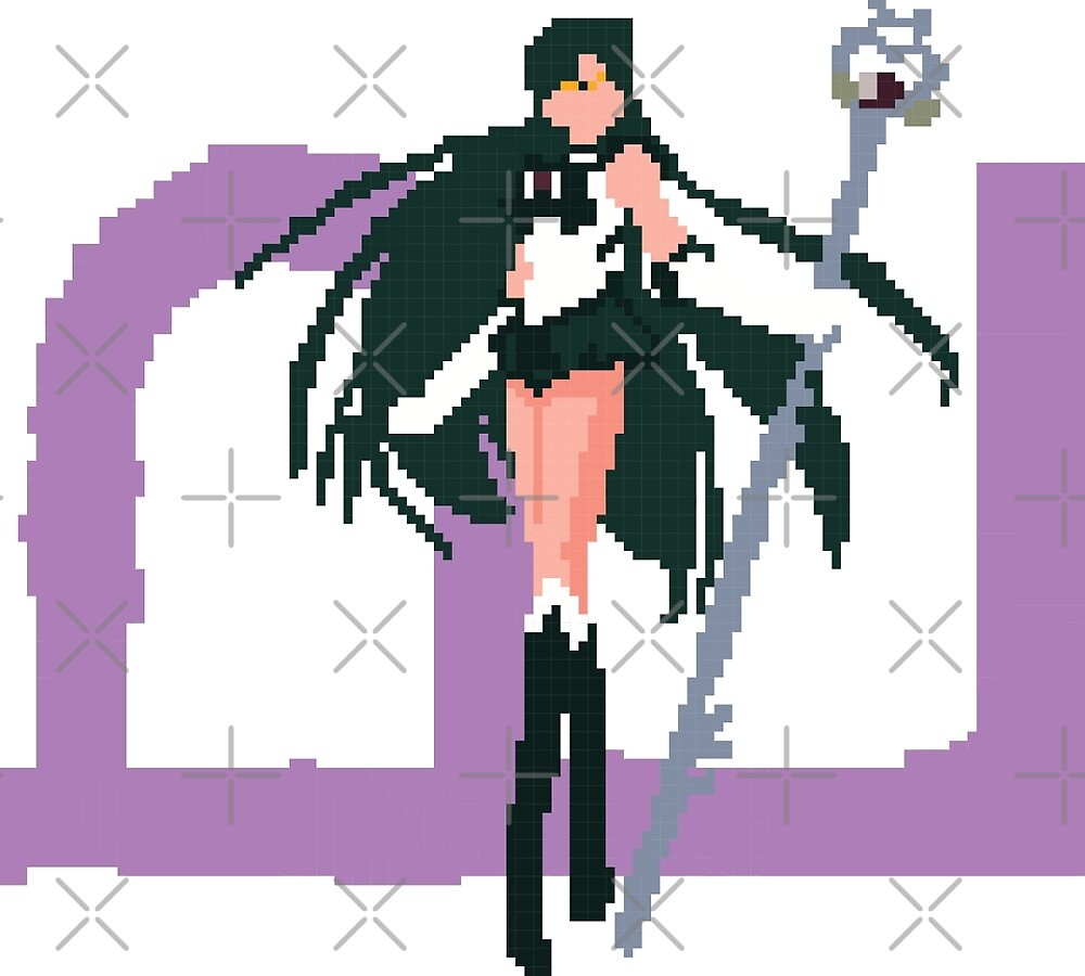 Pixel Sailor Pluto by theartistmusici