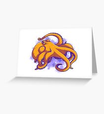 This Octopus Thinks You're Awesome Greeting Card