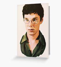 Benedict Cumberbatch digital portait Greeting Card