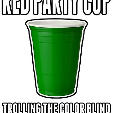 Red Party Cup by pfpkildare