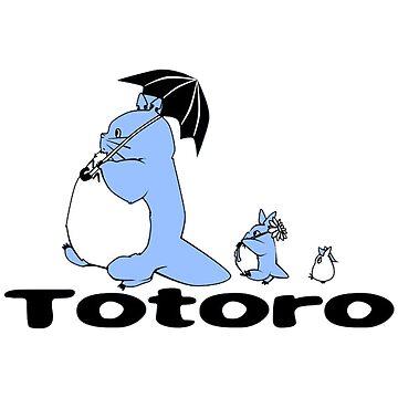 Totoro Walk by BoldManners