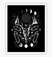Crystal Moon. Sticker
