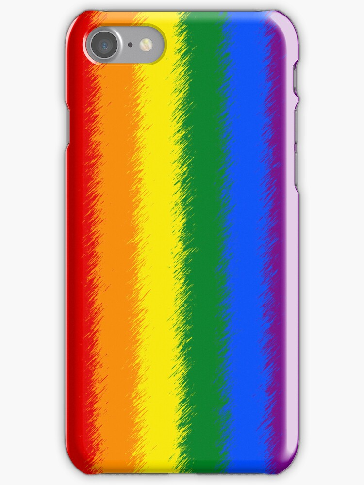 Smartphone Case - Rainbow Flag 6 by Mark Podger