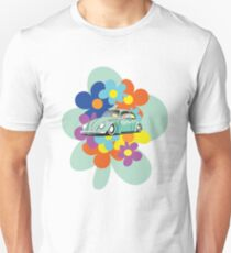 VW Beetle Flower Bug T-Shirt