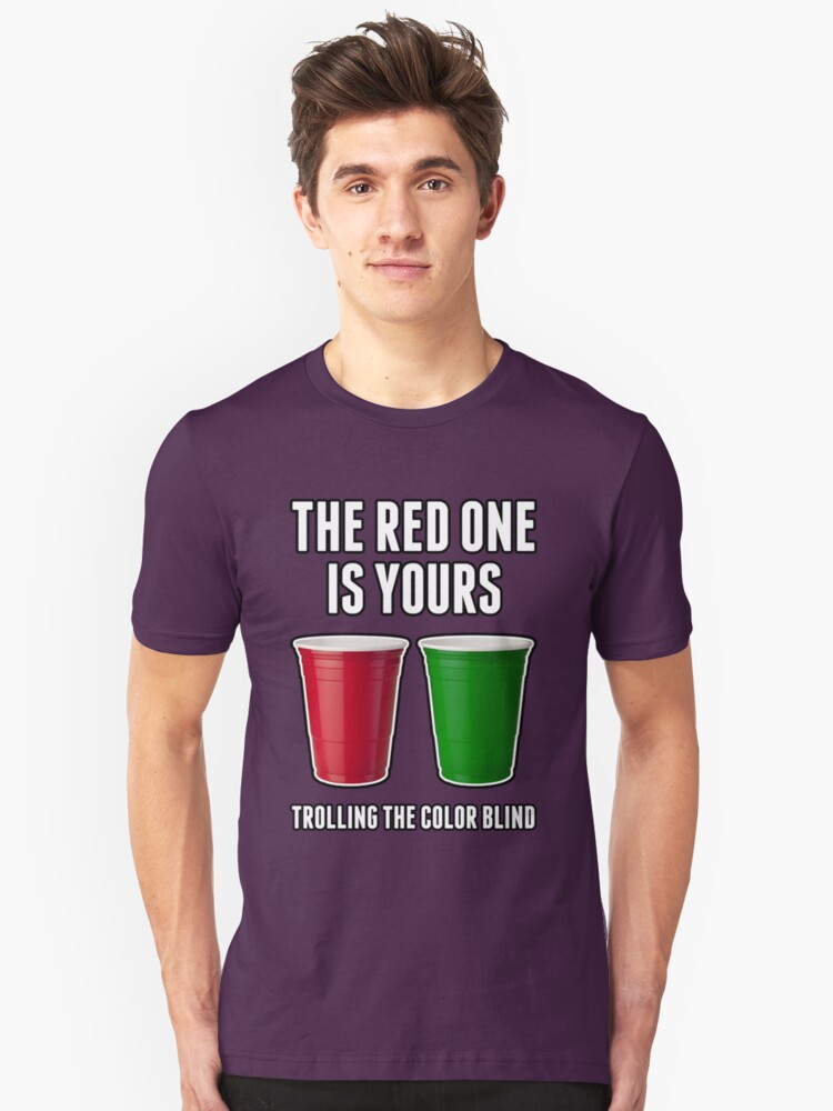 The Red One Is Yours Unisex T-Shirt Front