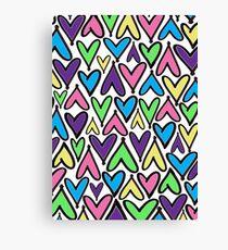 Heart Puzzle Canvas Print