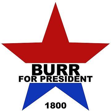 Burr for President by danimariex