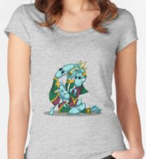 No, I'm the Real King! Women's Fitted Scoop T-Shirt