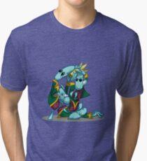 No, I'm the Real King! Tri-blend T-Shirt
