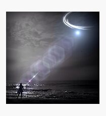 Alien Abduction Photographic Print