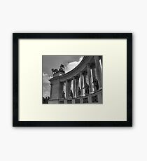 Heroes' Square, Budapest Framed Print