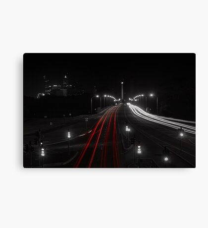 The Causeway - Perth Western Australia Canvas Print