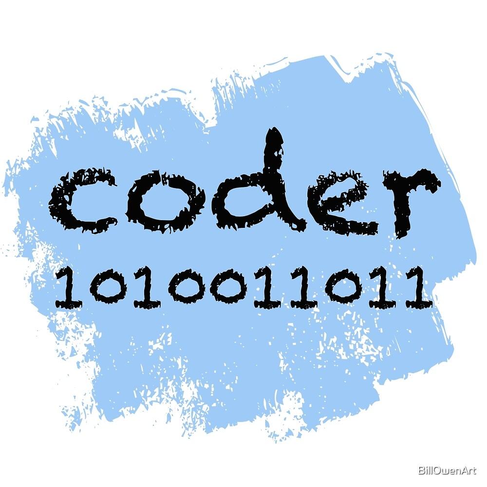 Coder by BillOwenArt