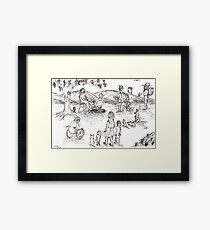 A Child is born Framed Print