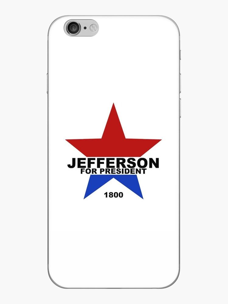 «Jefferson para presidente (2 colores)» de danimariex