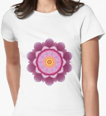 Nymphaea Womens Fitted T-Shirt