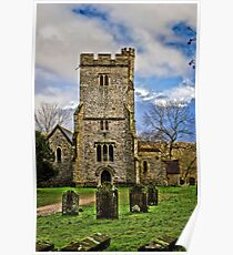 Challock Church Poster