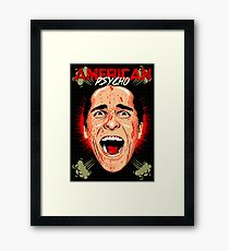 American Psycho Untouched Framed Print