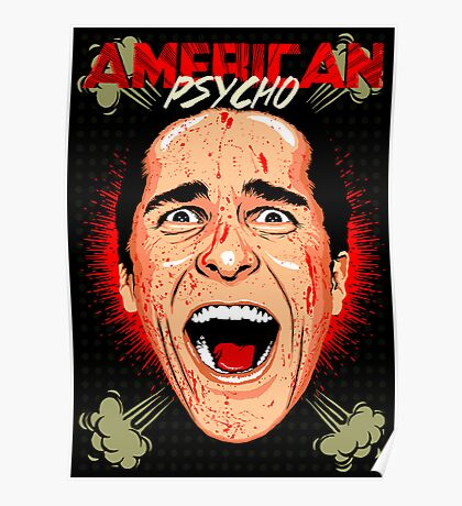 American Psycho Untouched Poster