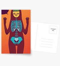 The Bones Postcards