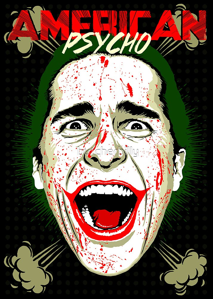 American Psycho The Killing Joke Edition by butcherbilly