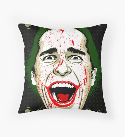 American Psycho The Killing Joke Edition Throw Pillow