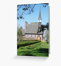 Grande Pre Church, Nova Scotia Greeting Card