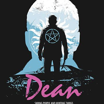 I Hunt, Therefore I Am (Dean - Supernatural & Drive) by girardin27