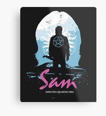 The Song Remains The Same (Sam - Supernatural & Drive) Metal Print