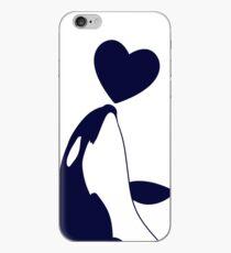 Love Orcas iPhone Case
