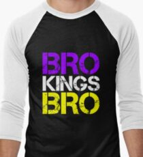 BRO TEAM BRO Men's Baseball ¾ T-Shirt