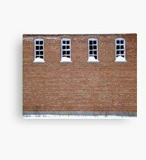 4 Windows Canvas Print