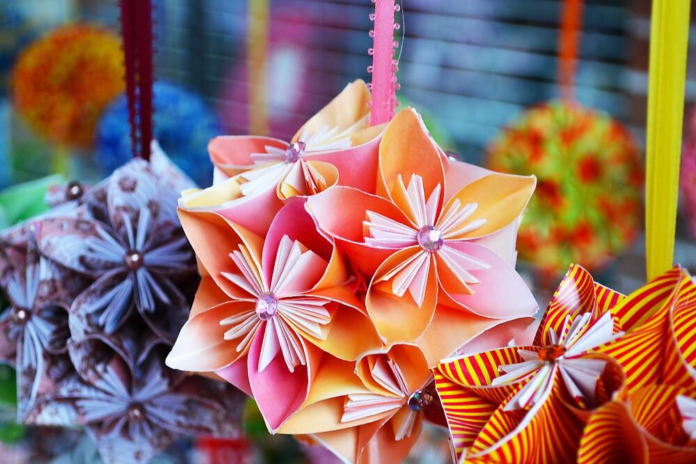 Pretty Paper Flowers by Allison  Flores