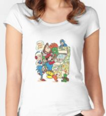 In a Parallel Universe Women's Fitted Scoop T-Shirt