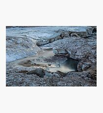 Ice Luge Photographic Print