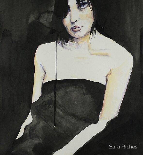 Sara, Self Portrait. by Sara Riches