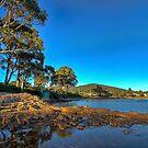 Shelley Beach waterfront HDR - Orford, Tasmania, Australia by PC1134