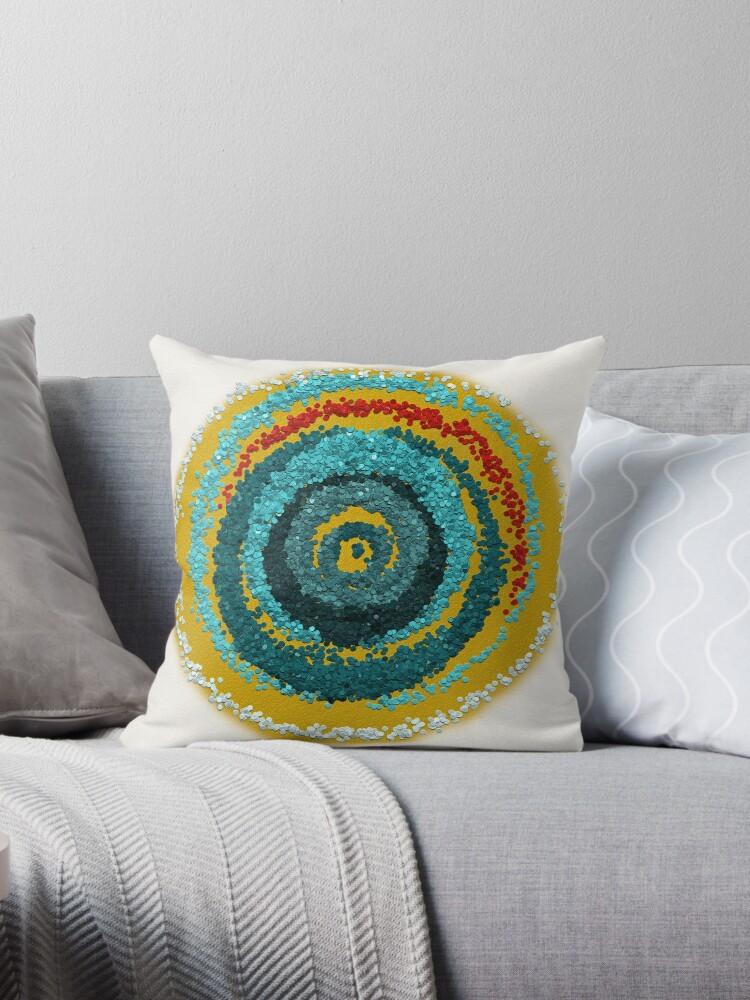 Rising Sun Unusual Mandala by Lucie Rovná