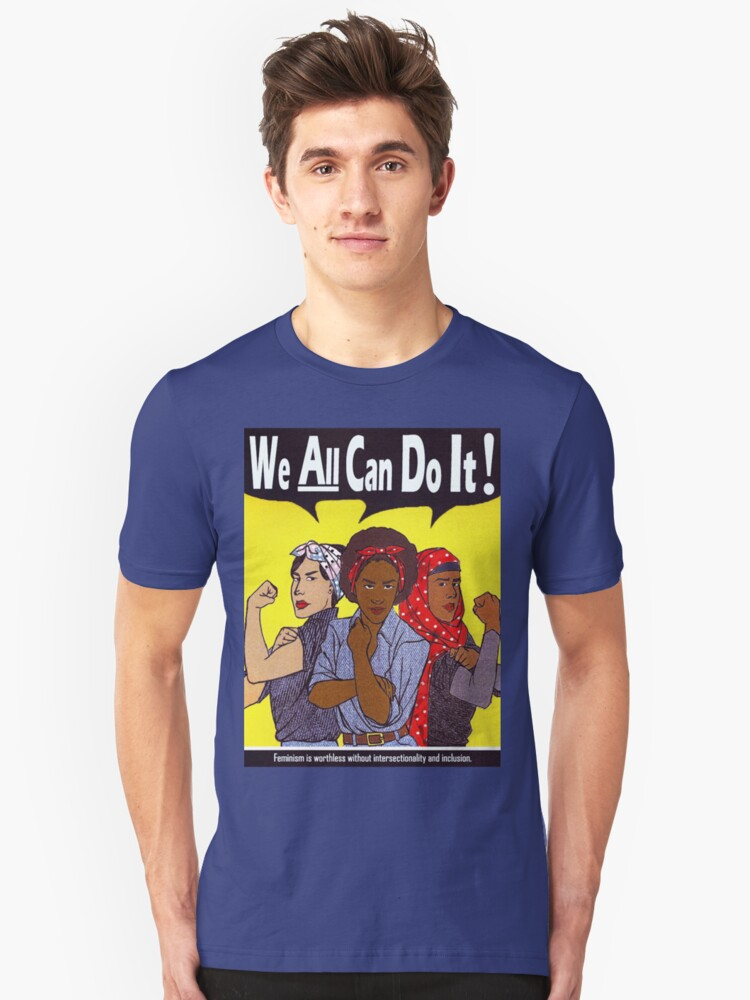 We Can Do It Unisex T-Shirt Front