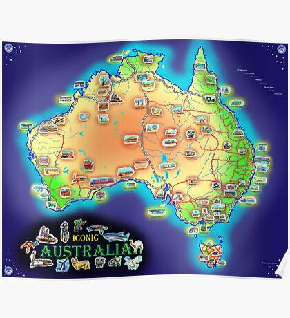 Iconic Australia Poster