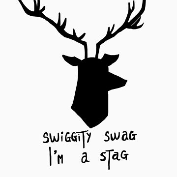 Hannibal stag - with text by gerardxxirwin