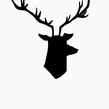Hannibal stag - without text by gerardxxirwin
