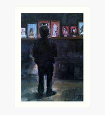 The Artist ( By Esther Jacks )  Art Print