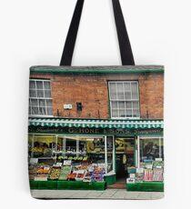 The Old Vegi Shop Tote Bag