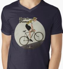 Tour De France Men's V-Neck T-Shirt