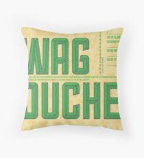 Swag Voucher Throw Pillow