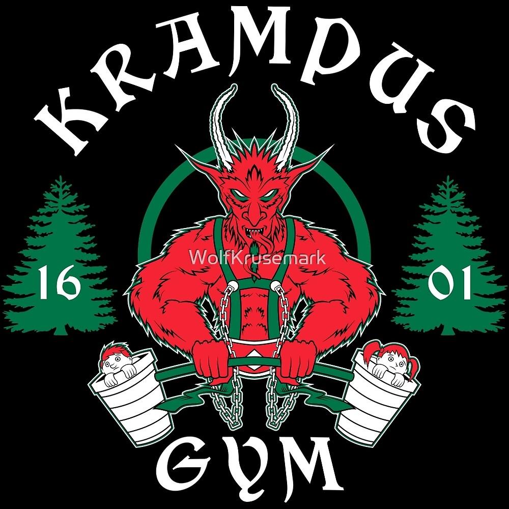 Krampus Gym by WolfKrusemark