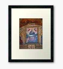 Religious art Framed Print